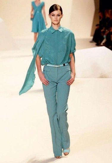 Completo pantaloni Elie Saab primavera estate 2013