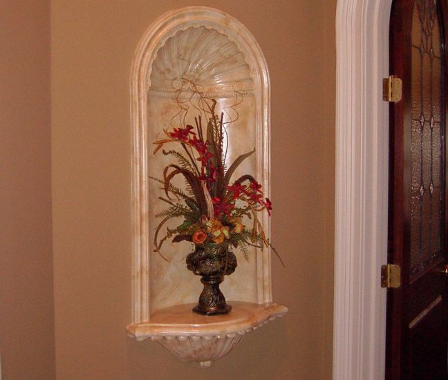Wall Niche Decor 14 best niche decor images on pinterest | niche decor, art niche