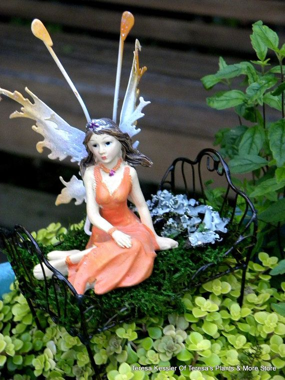 SALE- Buy 1 Get 1 FREE- Butterfly Faerie sculptures-Assorted Fairy styles