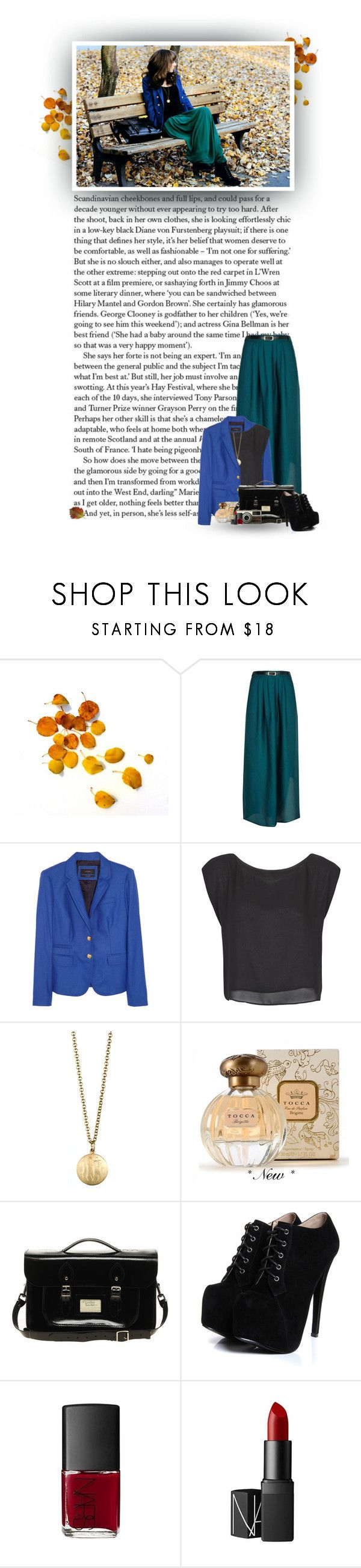 """""""If You Want To My Destroy My Sweater, Pull This Thread As I Walk Away..."""" by hollowpoint-smile ❤ liked on Polyvore featuring Cheap Monday, River Island, J.Crew, MANGO, Danielle Stevens Jewelry, Tocca, The Leather Satchel Co., Boohoo, NARS Cosmetics and ankle boots"""