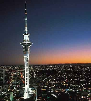 Auckland's Sky Tower, without which this city would feel incomplete.