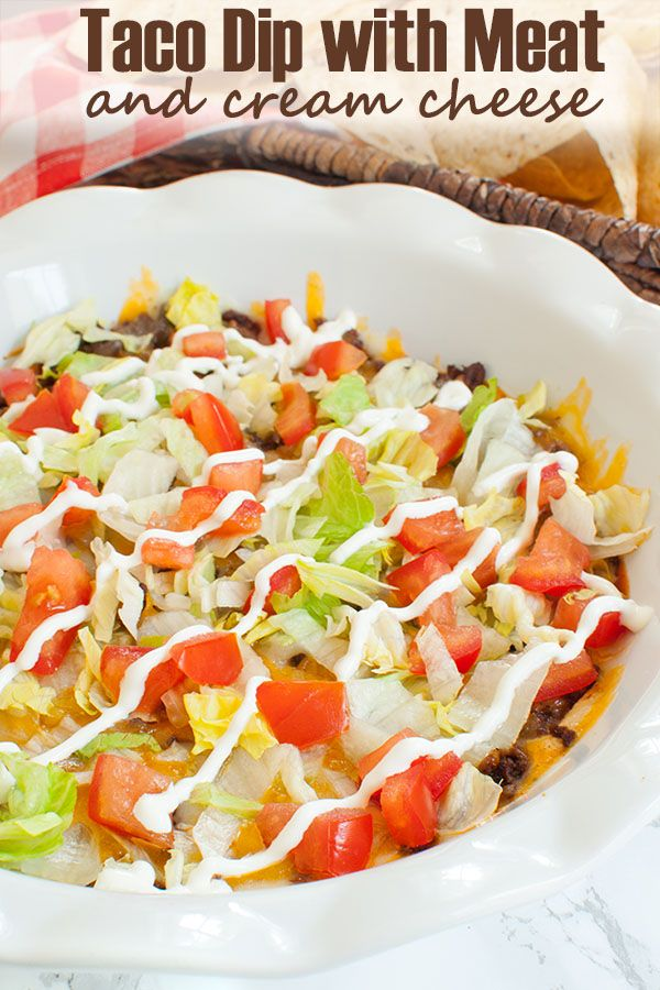 Taco Salad Recipe Cream Cheese