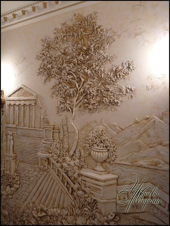 524 best images about bas relief modeling paste on for Bas relief mural
