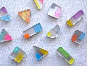Rainbow Resin.  Beautiful, Rare & Lovely.  ❤