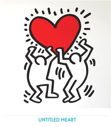 Keith HARING - Stickers muraux géants Officiels - Déco PopArt par Keith Haring…