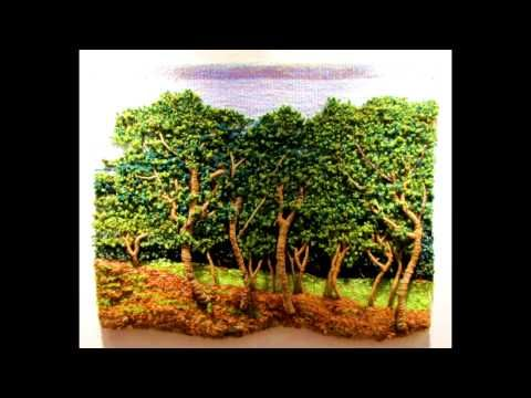 Tutorial TELAR ÁRBOL Decorativo 1 Paso a Paso Tapiz Wall Hanging TREE. Wandteppich BAUM. Lana Wolle - YouTube
