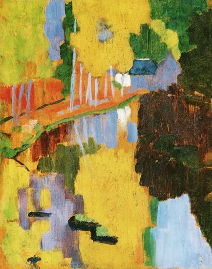 274 best images about serusier on pinterest portrait for Abstract impressionism definition