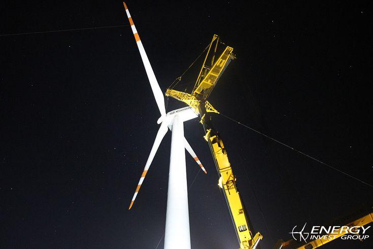 Montaż turbin Mykanów<br />EIG 1 i 2