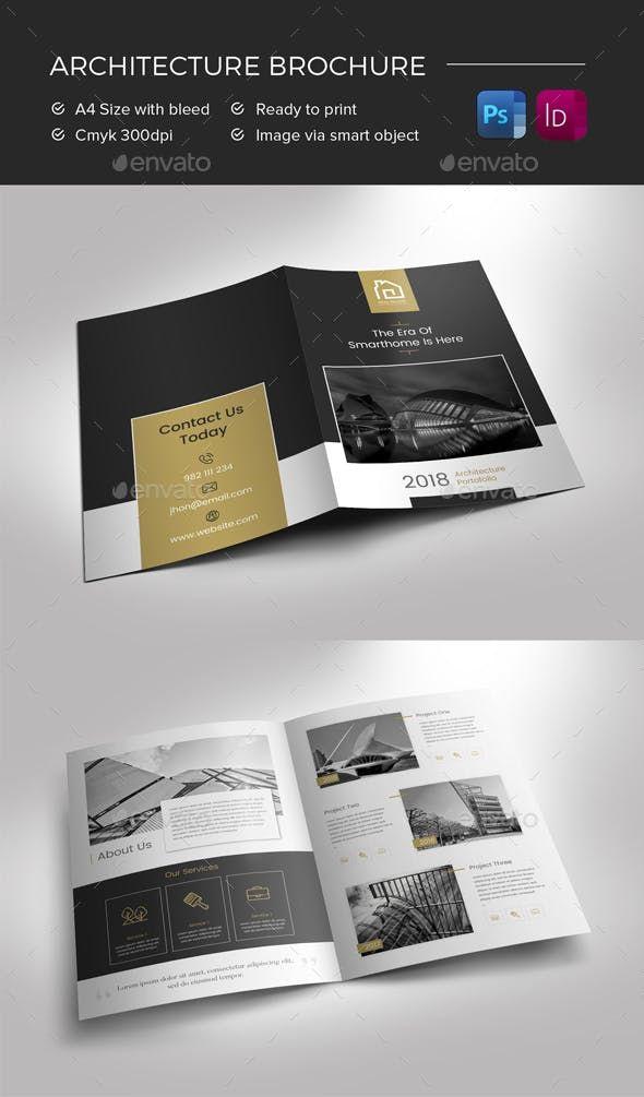 Architecture Brochure - Brochures Print Templates 板式设计