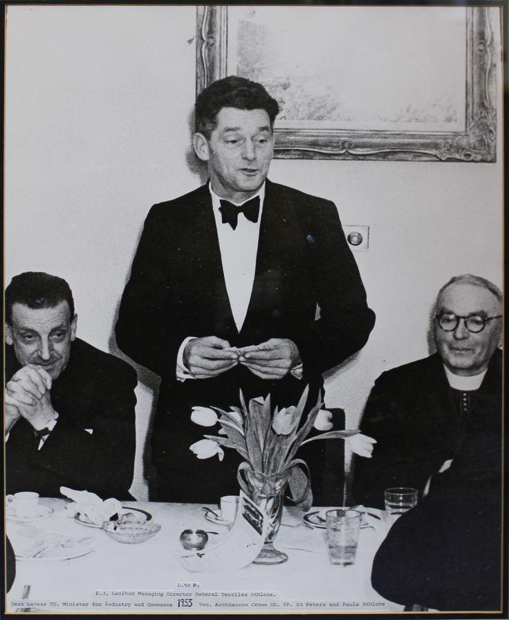 1953 - Seán Lemass TD, PJ Lenihan and Archdeacon Crowe