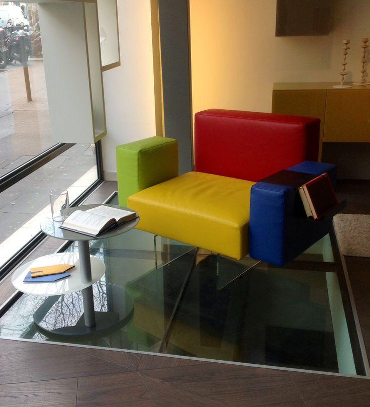Lago Interior Design Air Sofa Colletto Table #arlydesignparis
