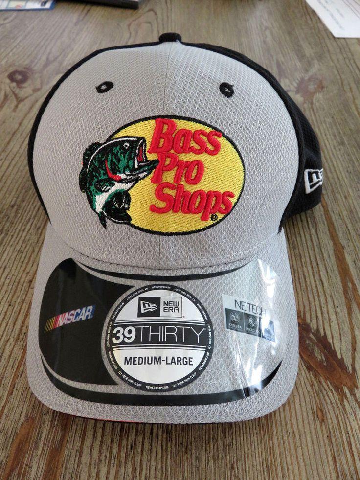 NEW Tony Stewart New Era 39Thirty Bass Pro Shops NASCAR Flex Hat #NewEra