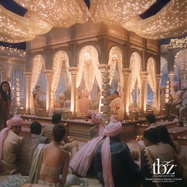 """The #wedding #mandap is all lit. Watch the wedding on our #YouTube channel. #WeddingsbyTBZ #TBZ #Gold #Diamond #Jewellery #Jewels #WeddingDecor #Indian #India #Bride"" Photo taken by @tbz1864 on Instagram, pinned via the InstaPin iOS App! http://www.instapinapp.com (12/04/2014)"