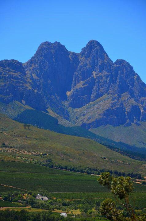 Jonkershoek valley, Stellenbosh - this valley has the highest annual rainfall in the Western Cape. #stellenbosch #jonkershoek #rainfall