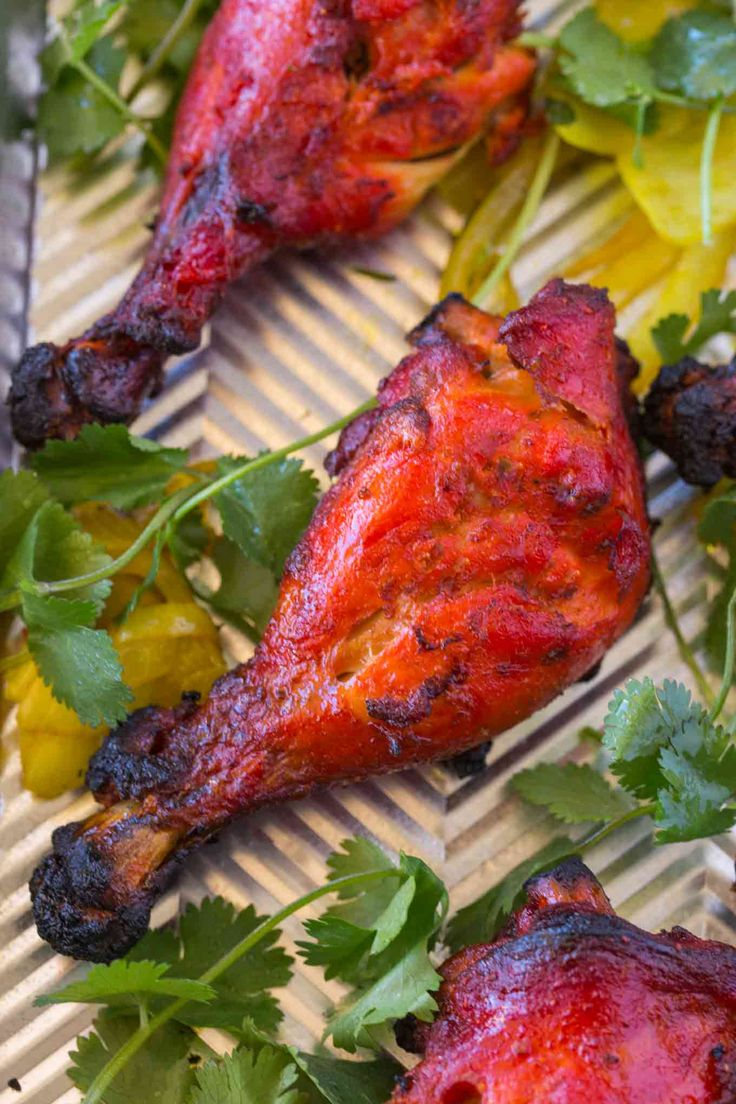 Classic Tandoori Chicken is an Indian recipe that's marinated in yogurt, garam masala and cayenne before baking made easier, a perfect weeknight meal.