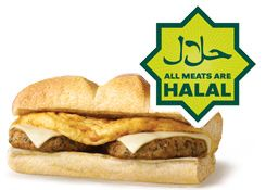 Certain Subways in the UK and Ireland are now serving ONLY halal (Muslim) meat, and have FULLY REMOVED all other meats from their menu!