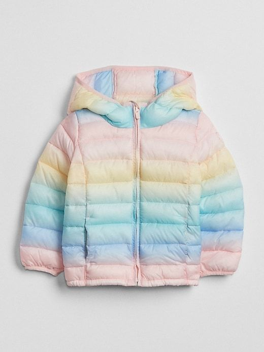 2855fe048b53 Print Puffer Jacket | Products | Puffer jackets, Jackets, Cute ...