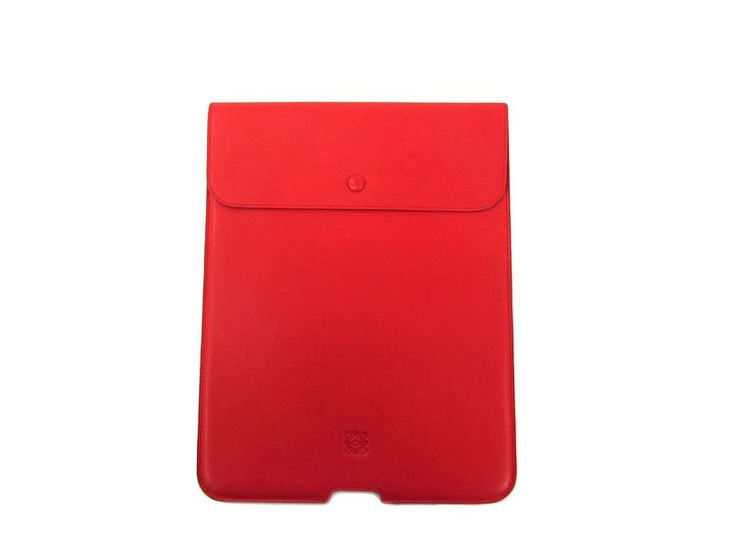 #LOEWE Pad Case for 9.7 inch model Tablet Case Nappa Leather Orange BF303004 #eLADY global offers free shipping worldwide. For more pre-owned luxury brand items, visit http://global.elady.com