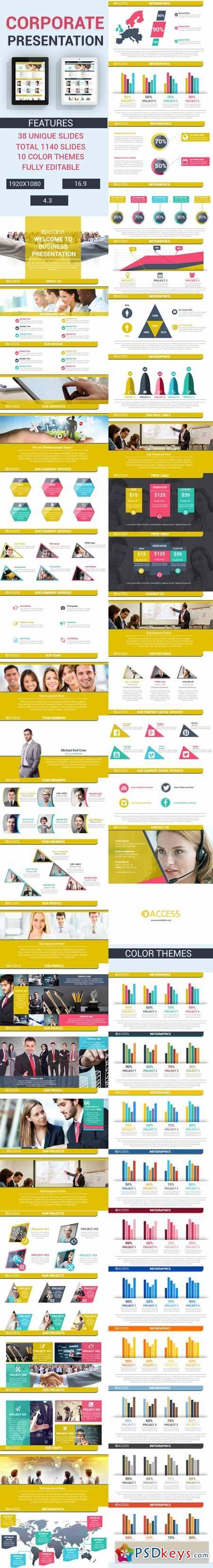 Corporate Presentation Powerpoint Template 11708340