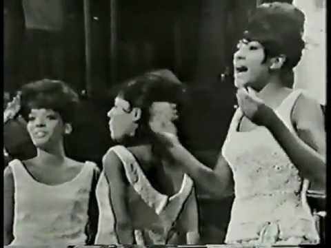 """""""He's A Rebel"""" - The Crystals -  1960s cute well dressed girls with great voices + rebel boyfriends. original video..go-go dancers in the background can't dance...the 60s!!!"""
