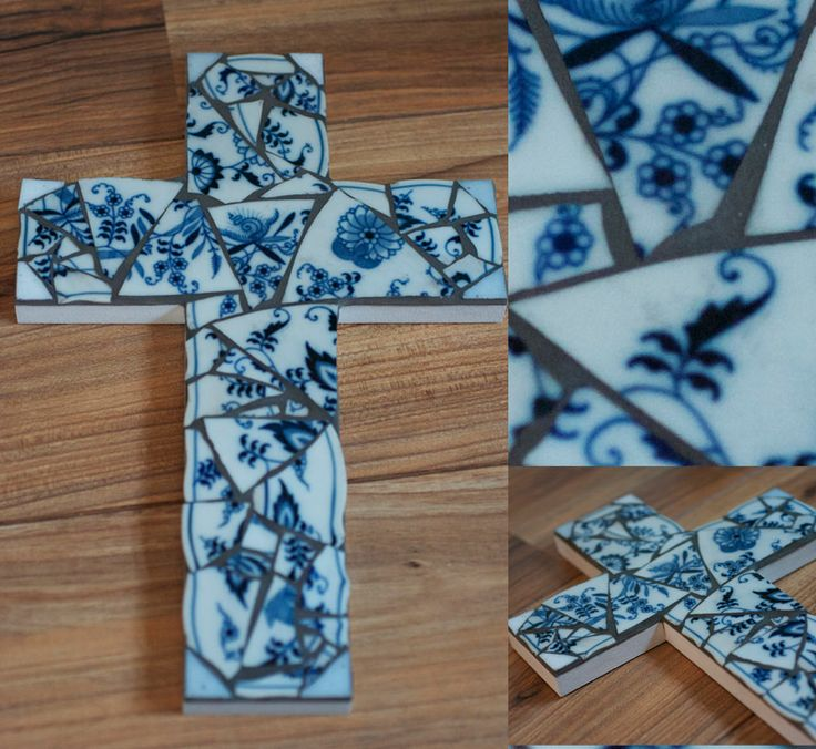 Free Mosaic Patterns For Beginners Mosaic Cross Template