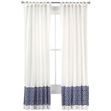 Jonathan Adler Greek Key Curtains At Jcpennys Home