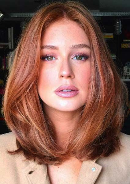 O novo corte de cabelo A-Line da Marina Ruy Barbosa | Just Lia