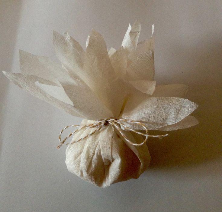 Blog de bodas - Yo dire que si: Flores o dalias para repartir el arroz de tu boda. Tutorial