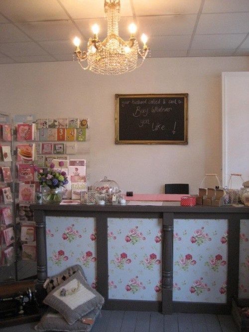 the pretty front desk: Crafting Studios, Shabby Obsession, Pretty Front, Chalkboard, Photo, Window Magic, Amy S Wedding