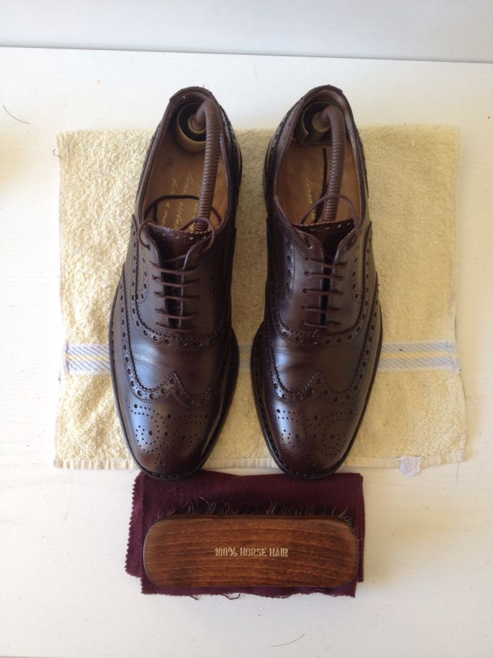 #brogues #shoeshine
