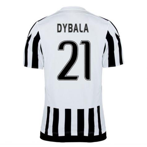 Juventus Jerseys 2015/16 Home Soccer Shirt #21 Dybala