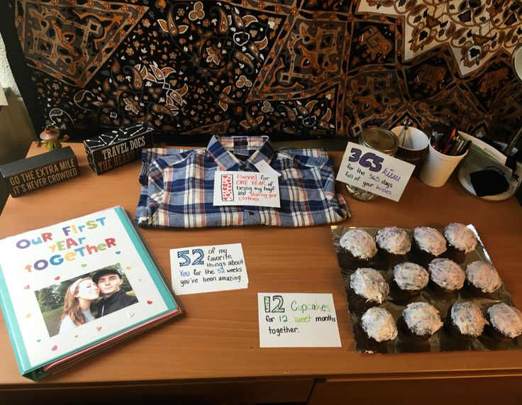One Year Anniversary Gift To The Boyfriend One Year Anniversary Gifts Boyfriend Anniversary Gifts Year Anniversary Gifts