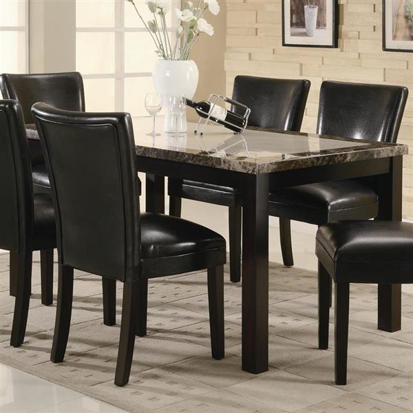 die besten 25+ faux marble dining table ideen auf pinterest, Esstisch ideennn