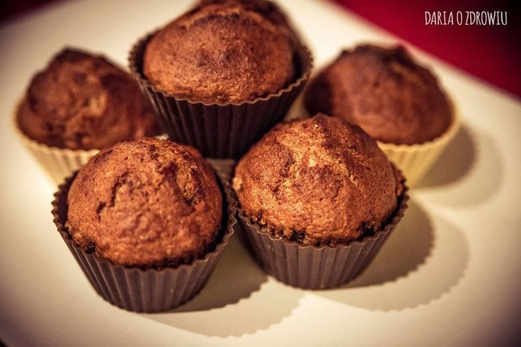 muffins with banana and cranberries