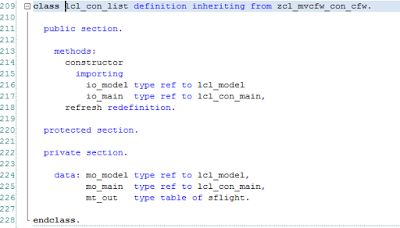 MVC (model view controller) framework for ABAP part 2