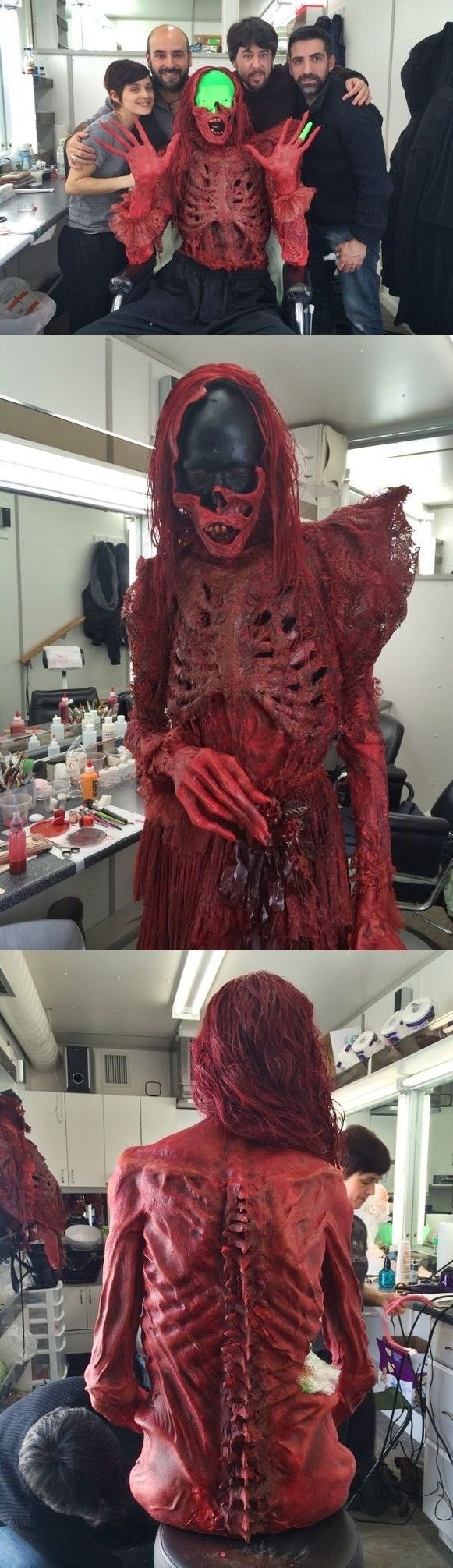 Guillermo del Toro's Behind the Scenes Pics from 'Crimson Peak'