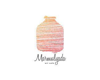 Marmulyada Art Cafe Logo Design