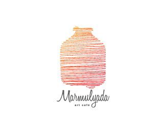 Marmulyada Art Cafe Logo Design