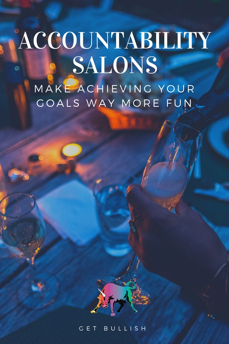 This champagne-fueled tactic will help you achieve your goals! Get Bullish article by Jen Dziura #getbullish #champagne #prosecco #goals #hustle