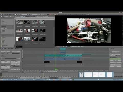 Meltingtuto 1 : le montage vidéo avec Blender. Part 1