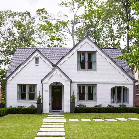 Exterior Small Home Design Ideas: Best 25+ White Stucco House Ideas On Pinterest