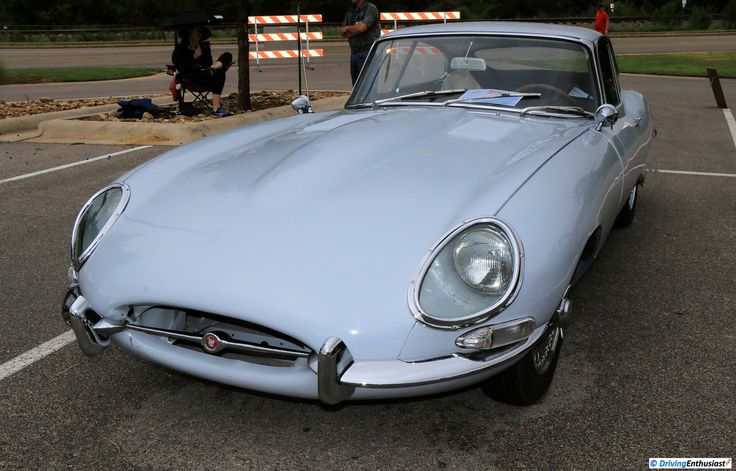 1966 Jaguar E-Type, as shown at the 2016 Texas All British Car Days event in Round Rock, TX, USA.