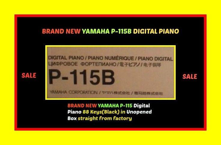 YAMAHA P-115 B Digital Stage Piano BRAND NEW IN SEALED BOX $600 ITEM 1 Day Sale  #Yamaha