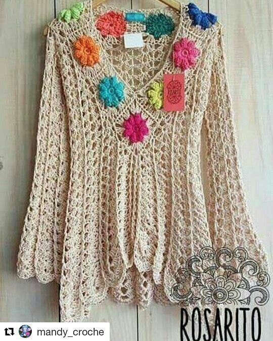 Inspiração #croche #crochet #crocheting