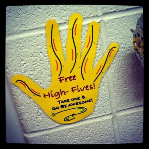 A Fellow School Counselor: It's the little things that count!    Another free and easy idea to make kids feel cared for.