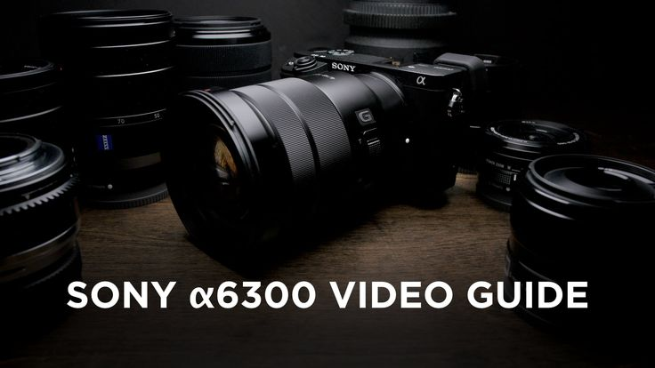 Sony a6300 Video Guide