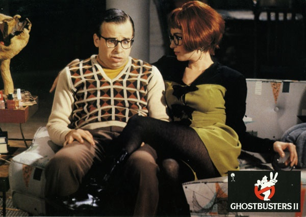 For me, Ghostbusters' Janine Melnitz is the original hot redheaded secretary.