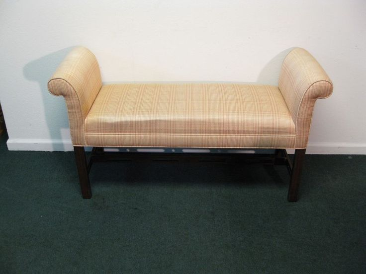Ethan Allen Georgian Court Bench