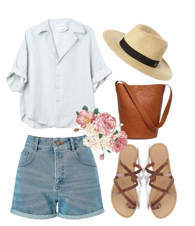 """When in France"" by canara-imin on Polyvore featuring Miss Selfridge, Rip Curl and Sole Society"