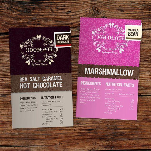 #packagingdesign for Xocolatl Chocolate Boutique #designinspiration #design #graphicdesign